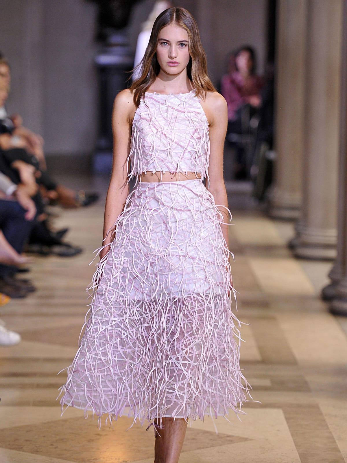 Carolina Herrera spring 2016 collection Look 7