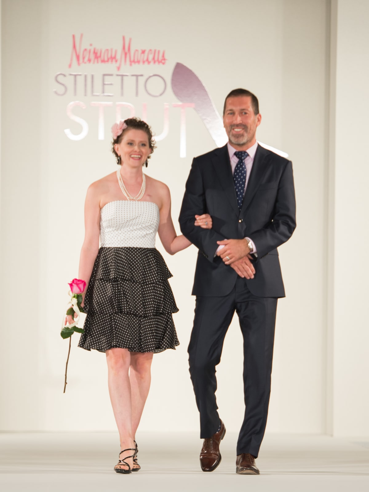 News, Shelby, Stiletto Strut, Sept. 2015 Heather Lozado and Hernan Vargas