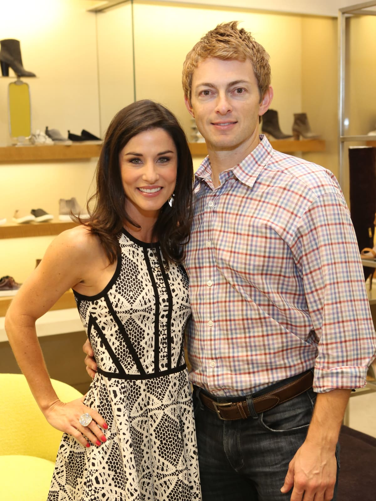 News, Shelby, Stiletto Strut, Sept. 2015 Alyson and Colton Hass