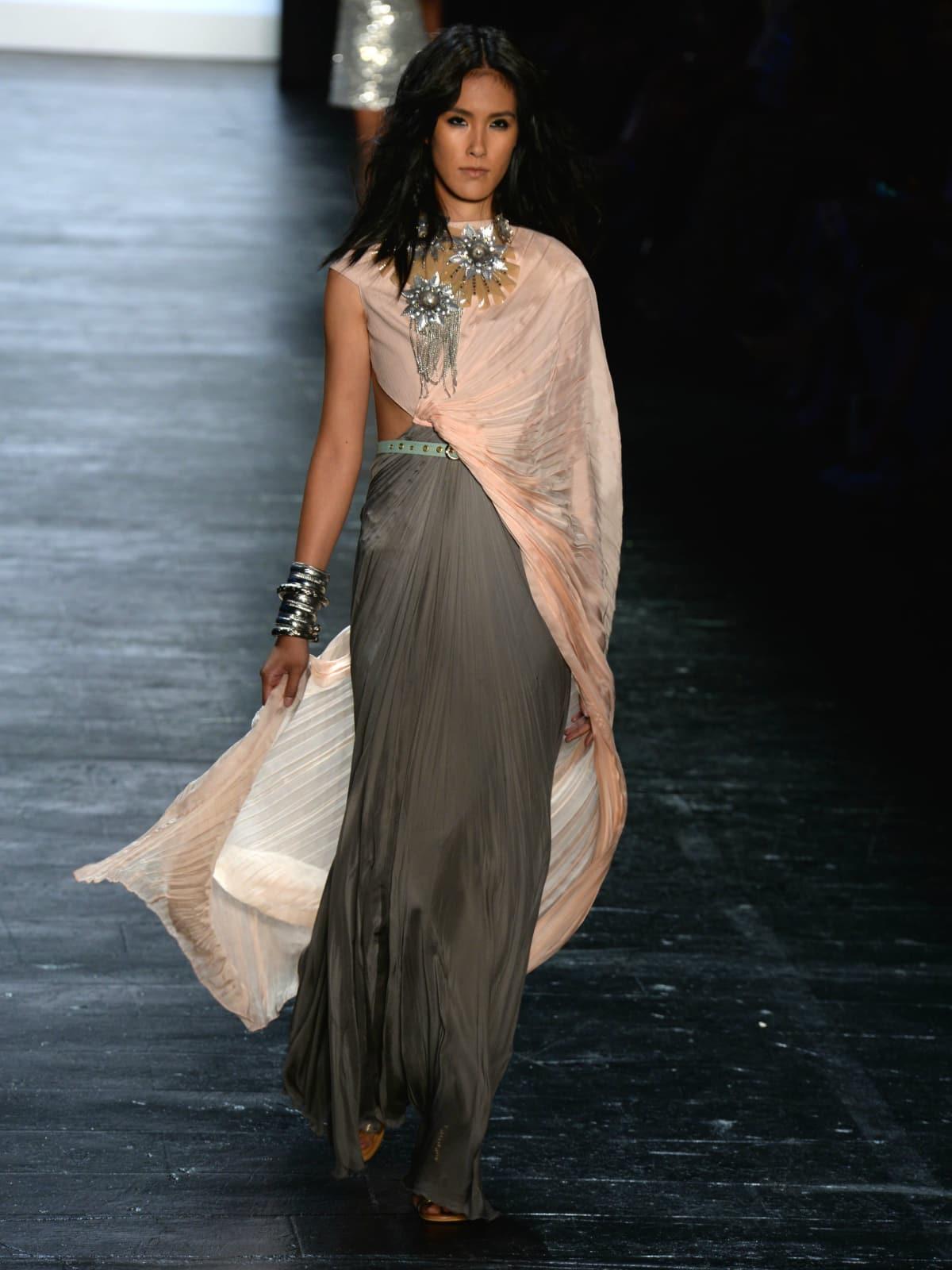 Project Runway runway show at New York Fashion Week