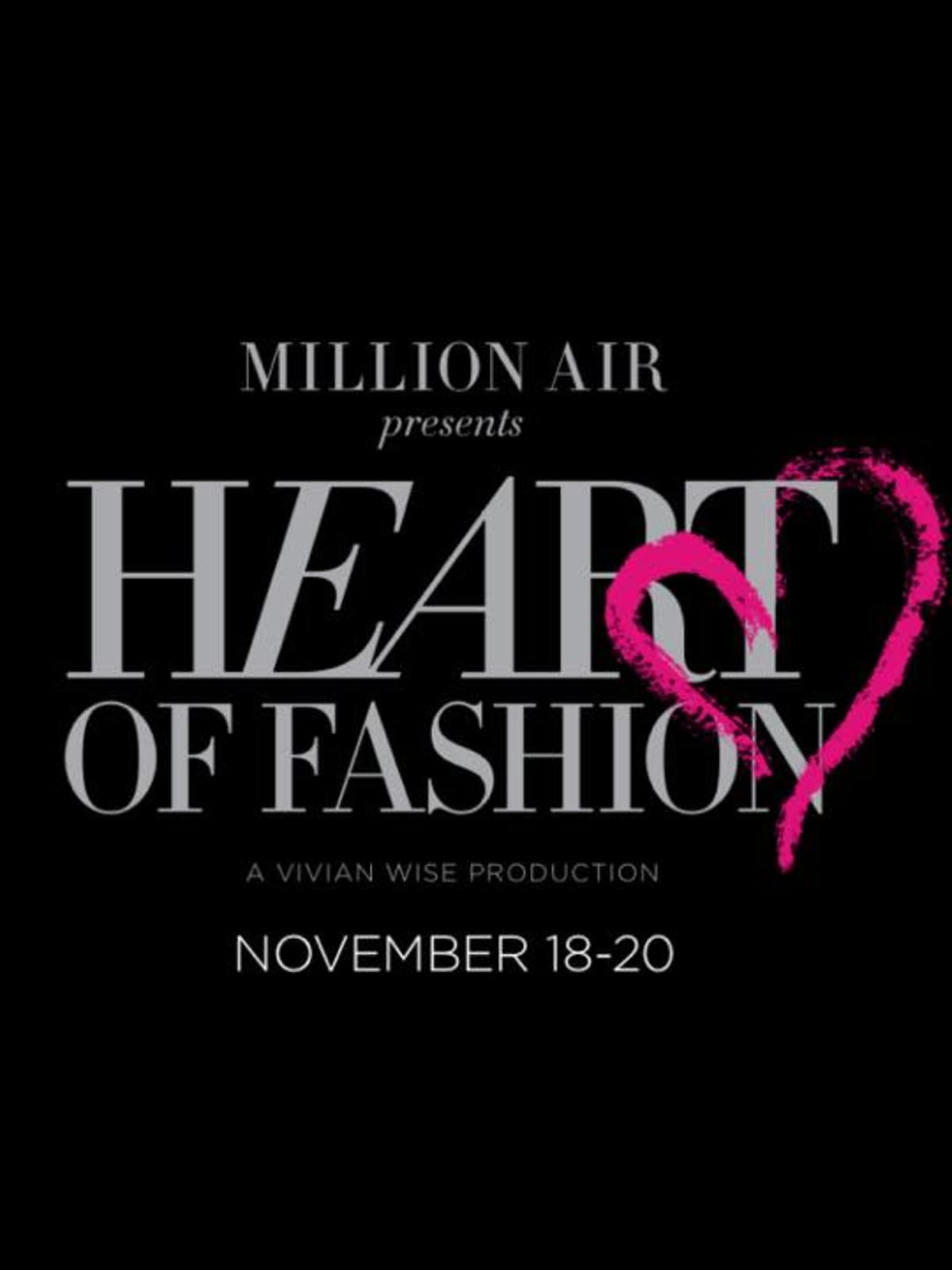 Houston s to the Heart of Fashion with designer runway