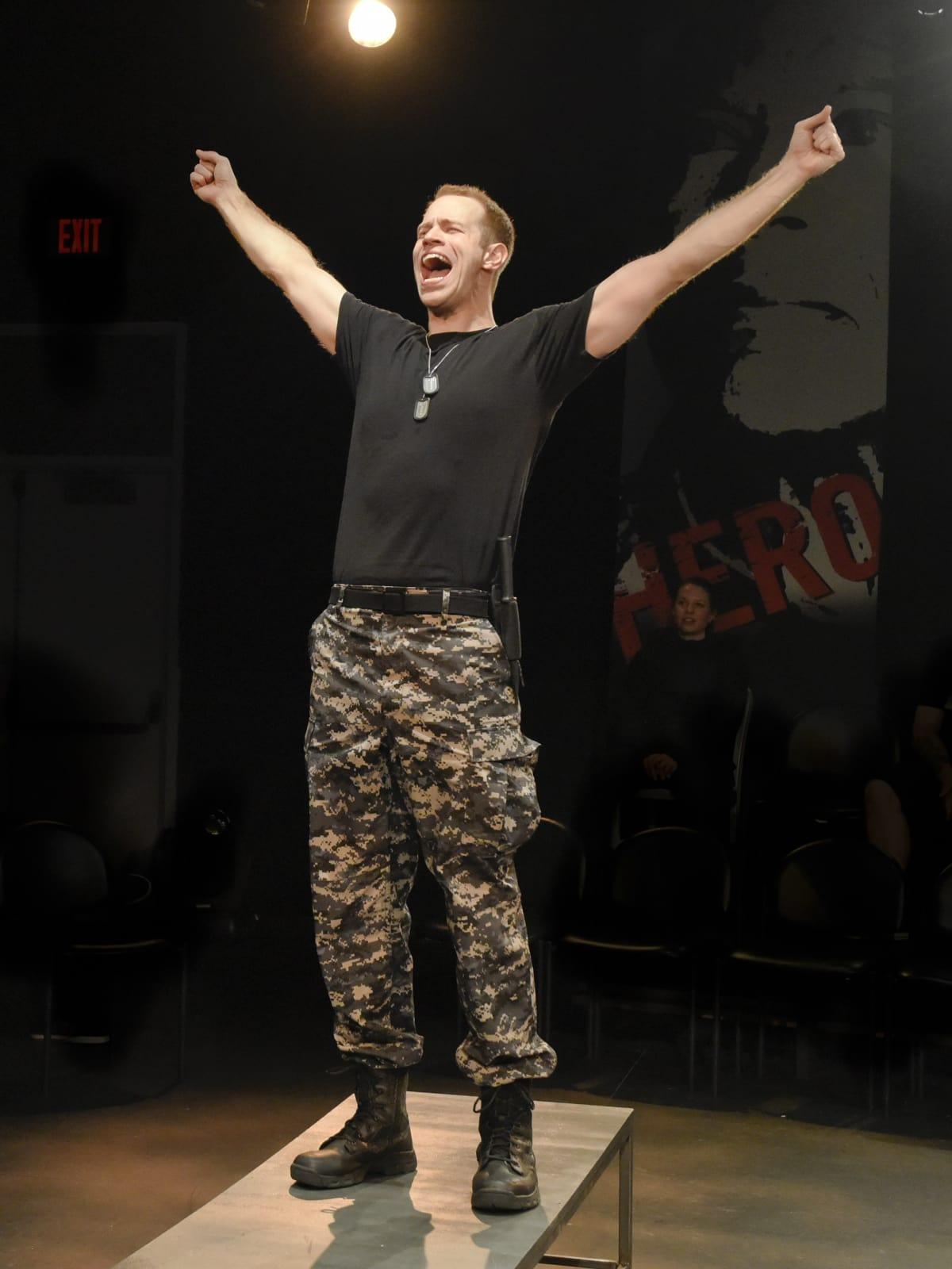 Alex Organ in Othello at Second Though Theatre in Dallas