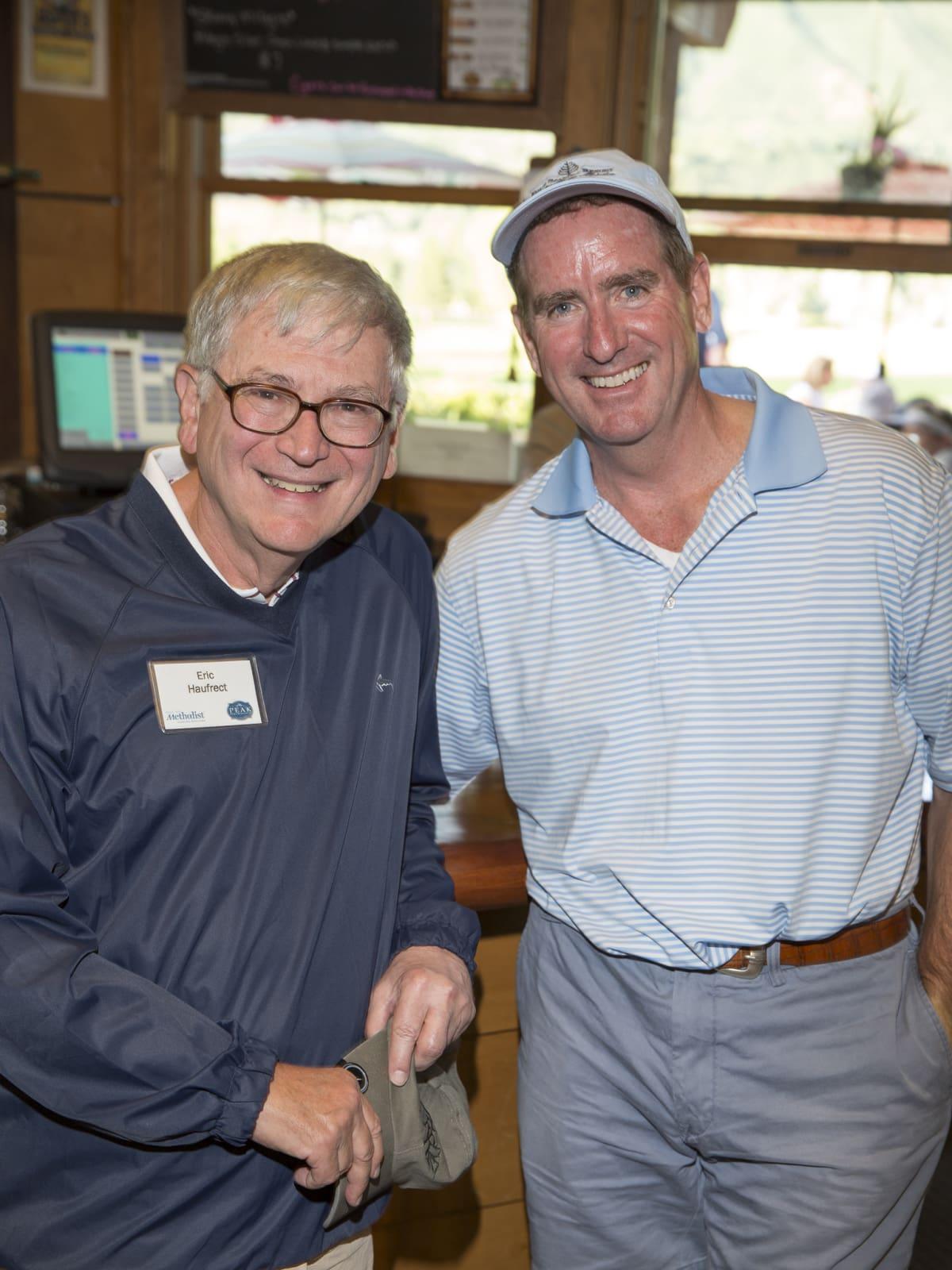 Houston Methodist in Aspen, July 2015, Dr Eric Haufrect and Bob Hay