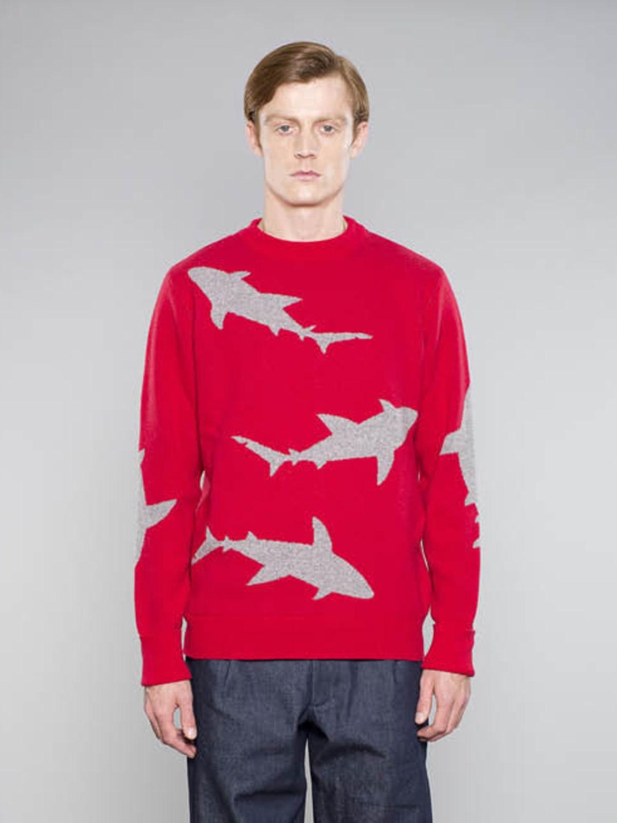 Shark Week jumper Christopher Raeburn