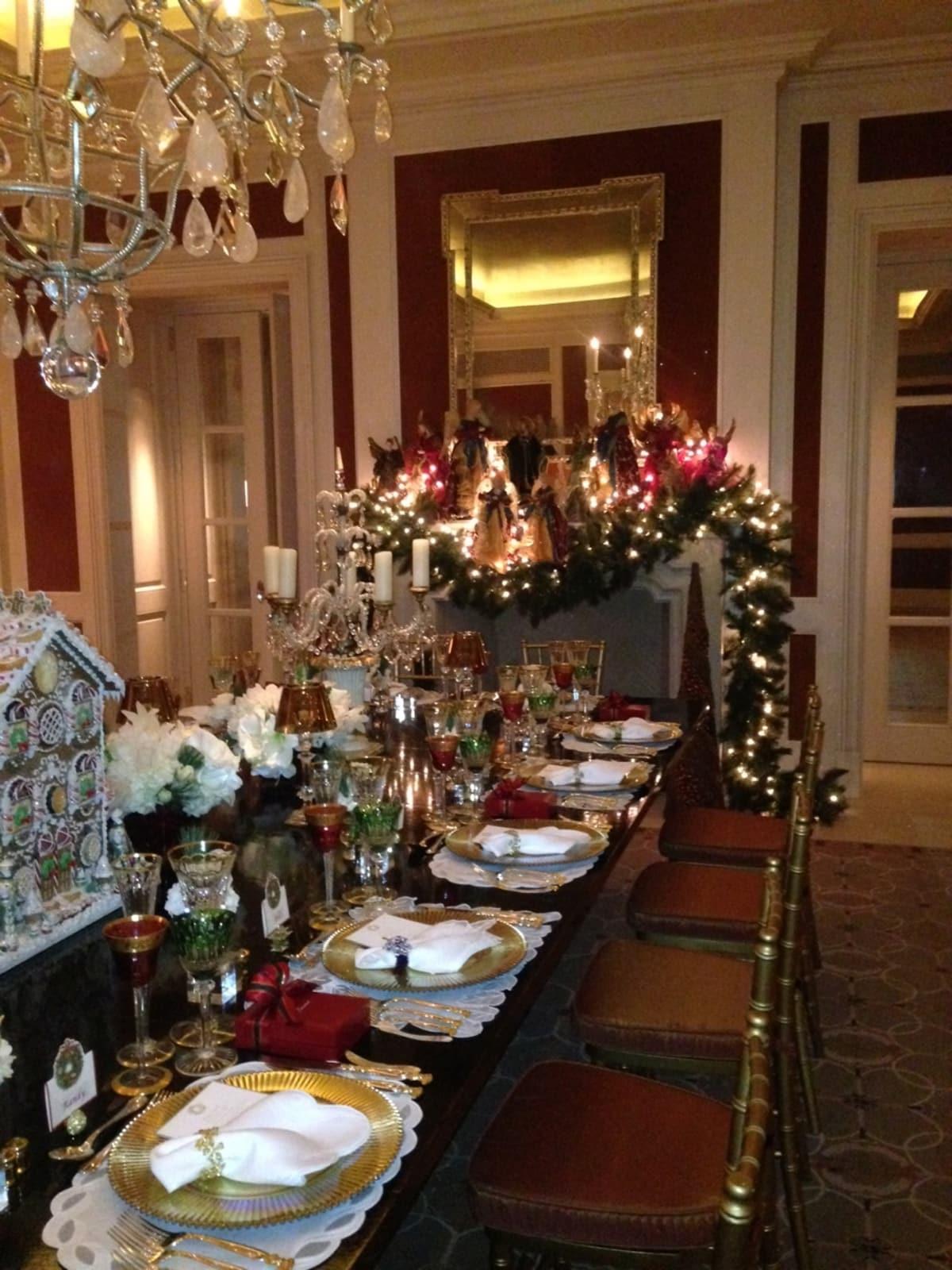 News, Shelby, Christmas Tabletop, July 2015