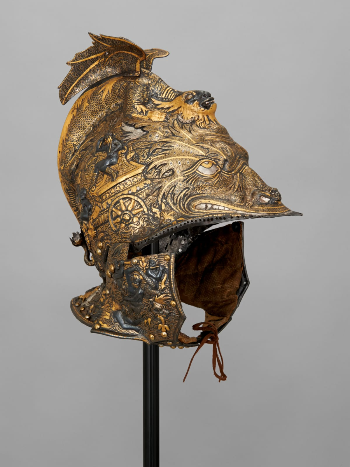 Habsburg Splendor, All'antica Morion of Archduke Ferdinand II