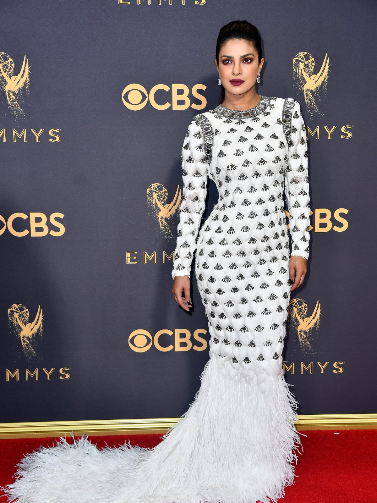 Priyanka Chopra in Lavin at Emmy Awards 2017