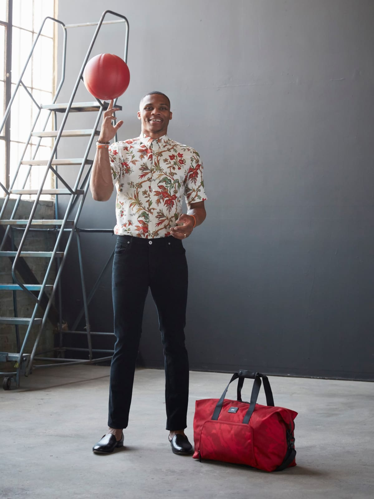 Russell Westbrook x Tumi collection