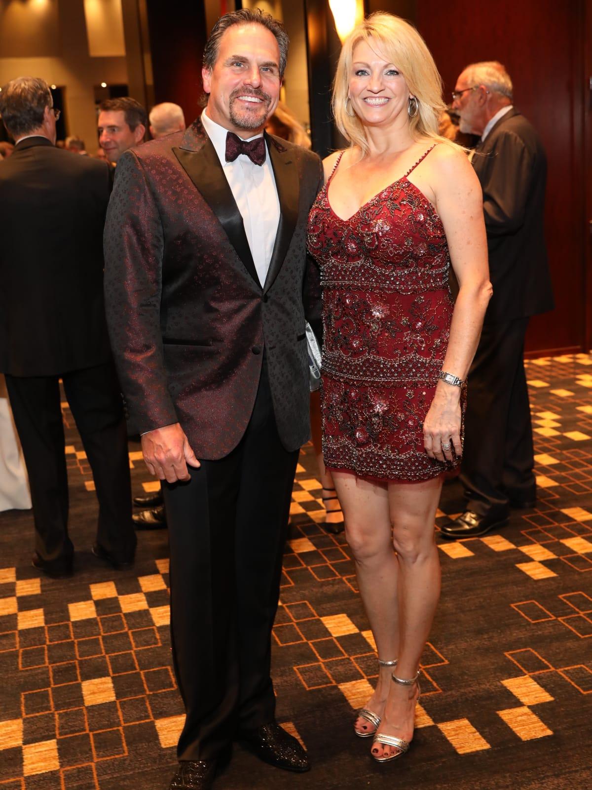 Duke and CC Ensell at Festari Gala