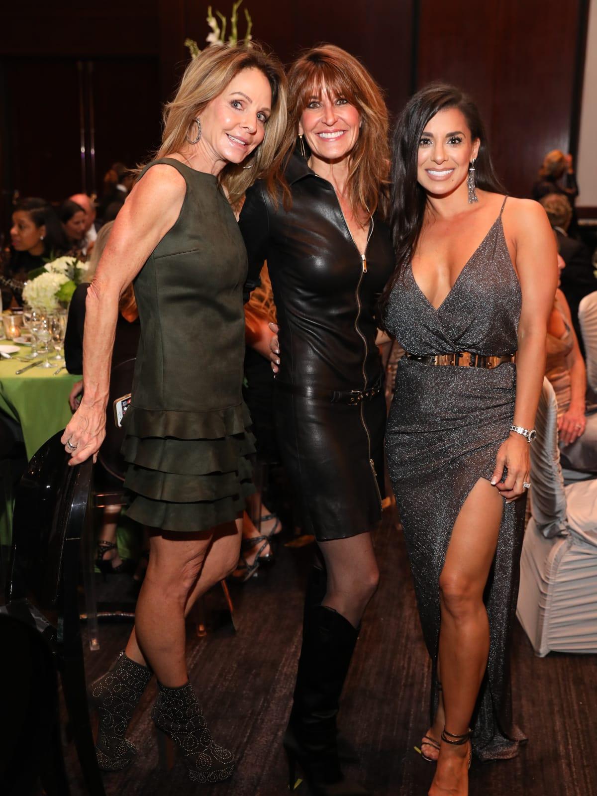 Kristi Gilliam, Annie Amante, Rachel Bagwell at Festari Gala