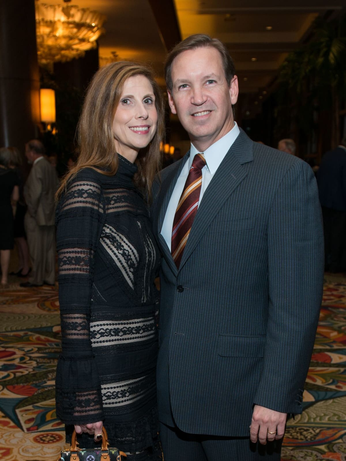 Kim and Bill Sanchez at MD Anderson Legends dinner