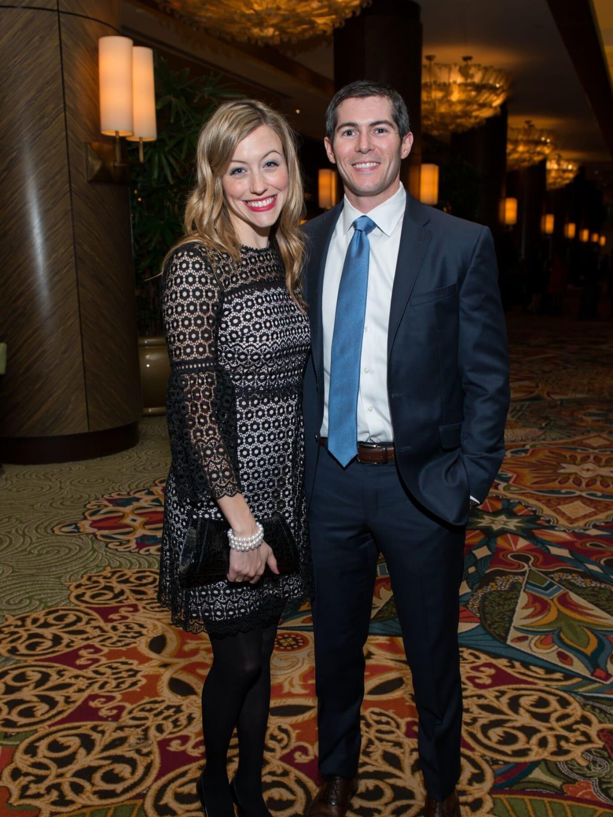 Meghan and Lance Baker at MD Anderson Legends dinner
