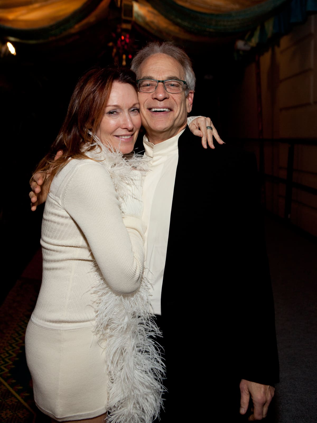 26 Holly Waltrip and Mickey Rosmarin at the Night Circus party January 2014