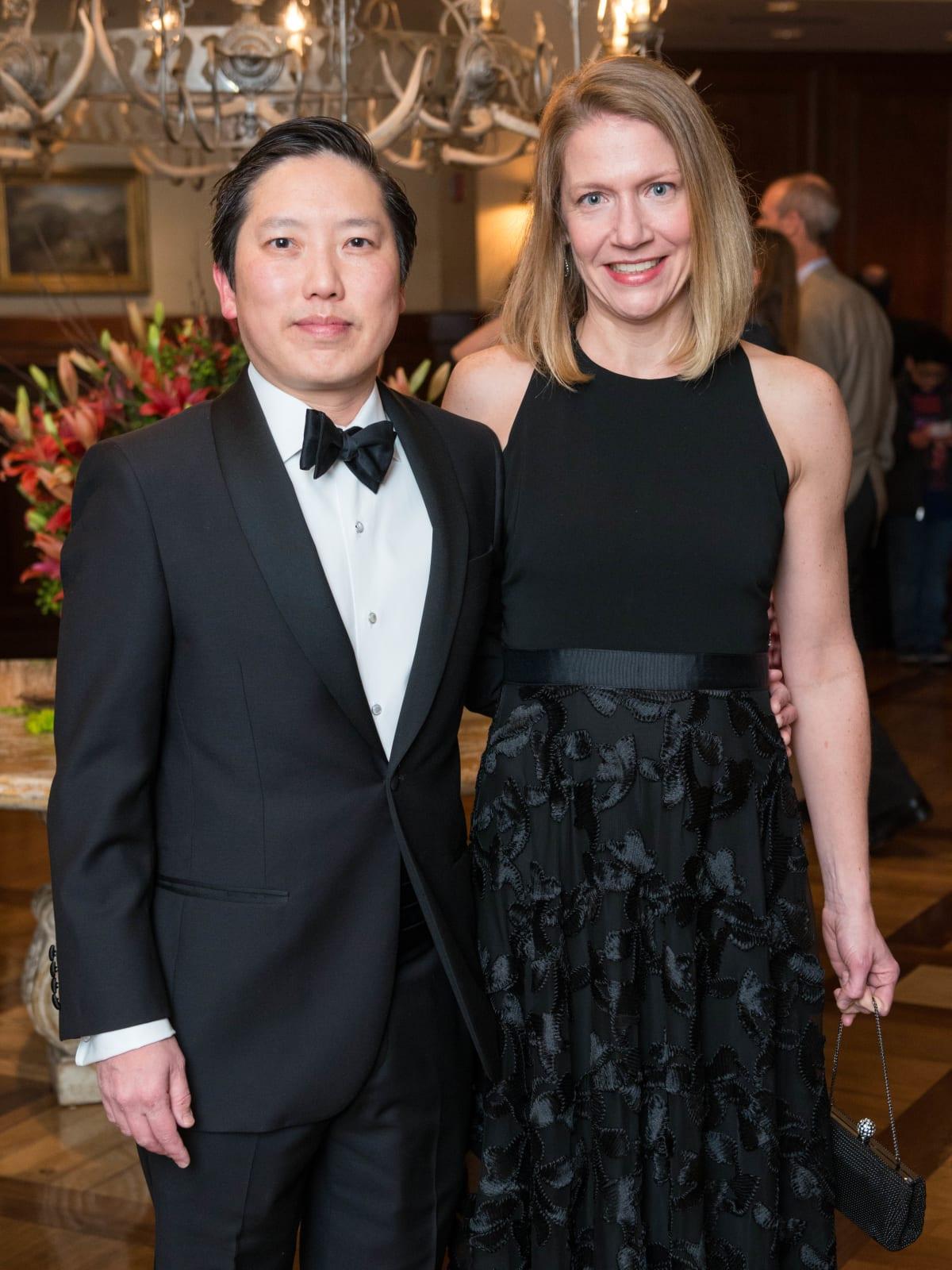 Inprint Poets & Writers Gala 2018:Ba Nguyen and Gwendolyn Dawson