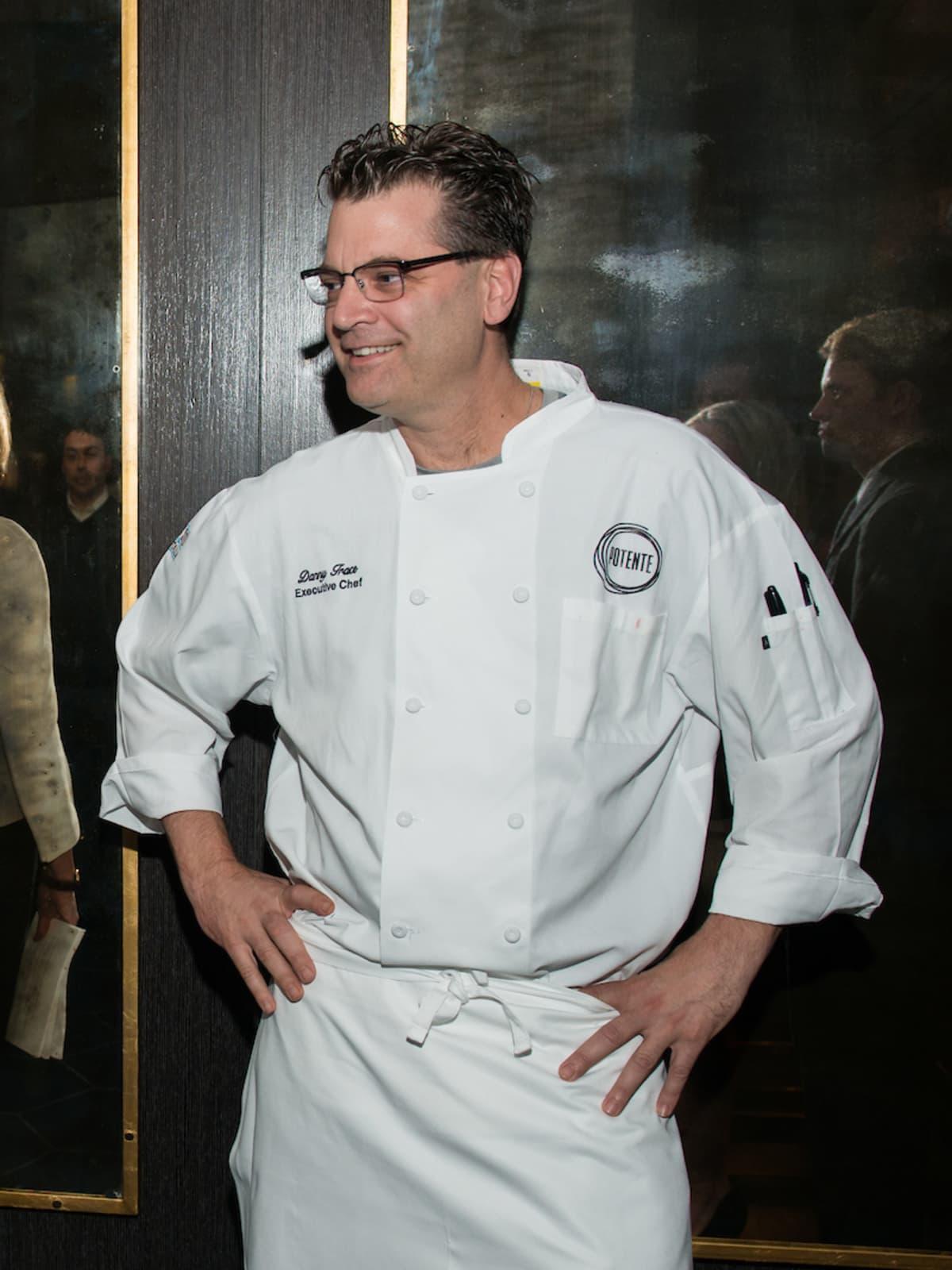 Potente chef Danny Trace