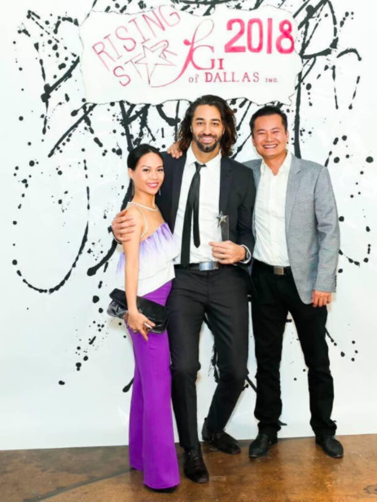 Nha-Khanh Nguyen, Aaron Fairooz, Loi Dang, Dallas_FGI Rising Star