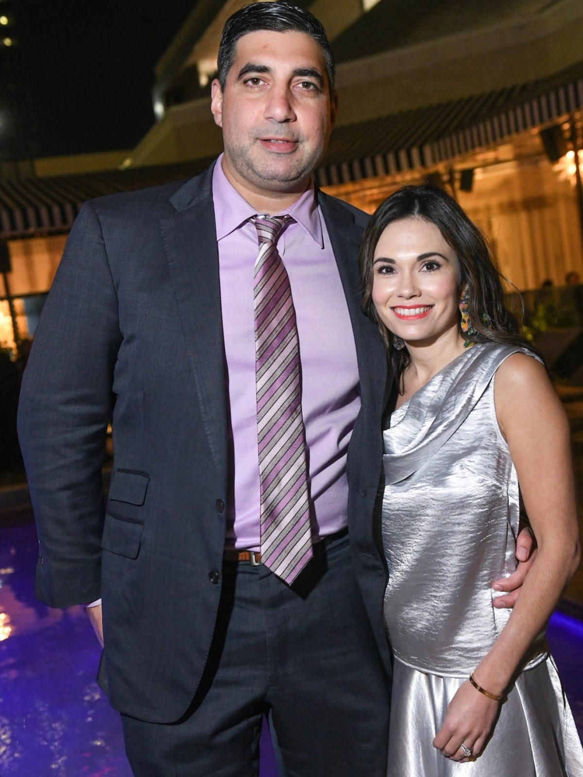 George Farah and Michele Leal Farah