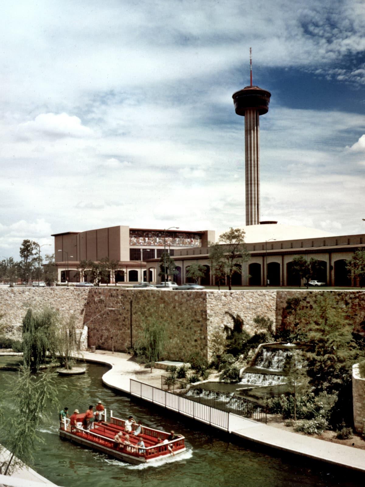 San Antonio River Walk 1968