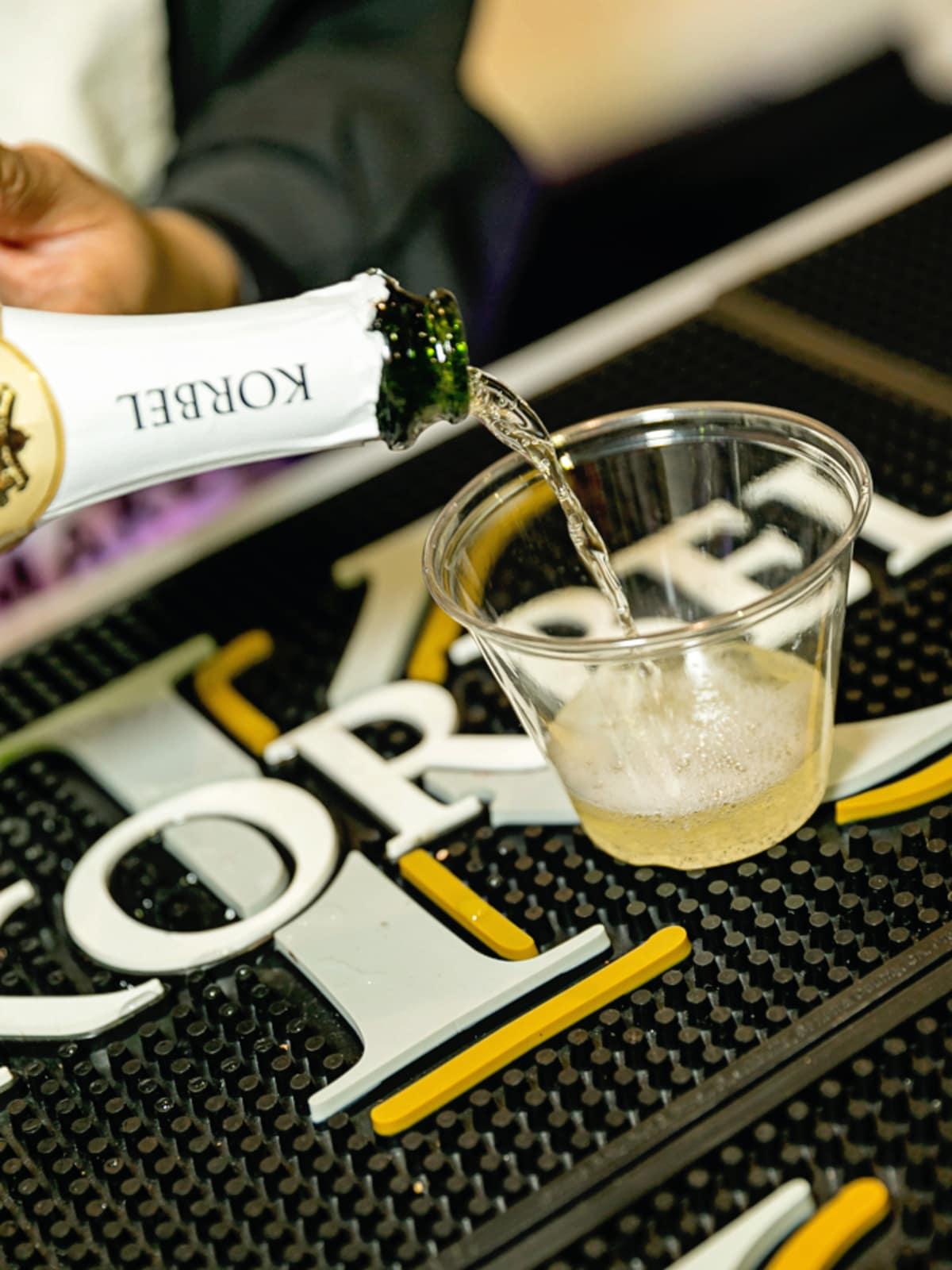 Tastemaker Awards 2018 Korbel Bubbly Bar