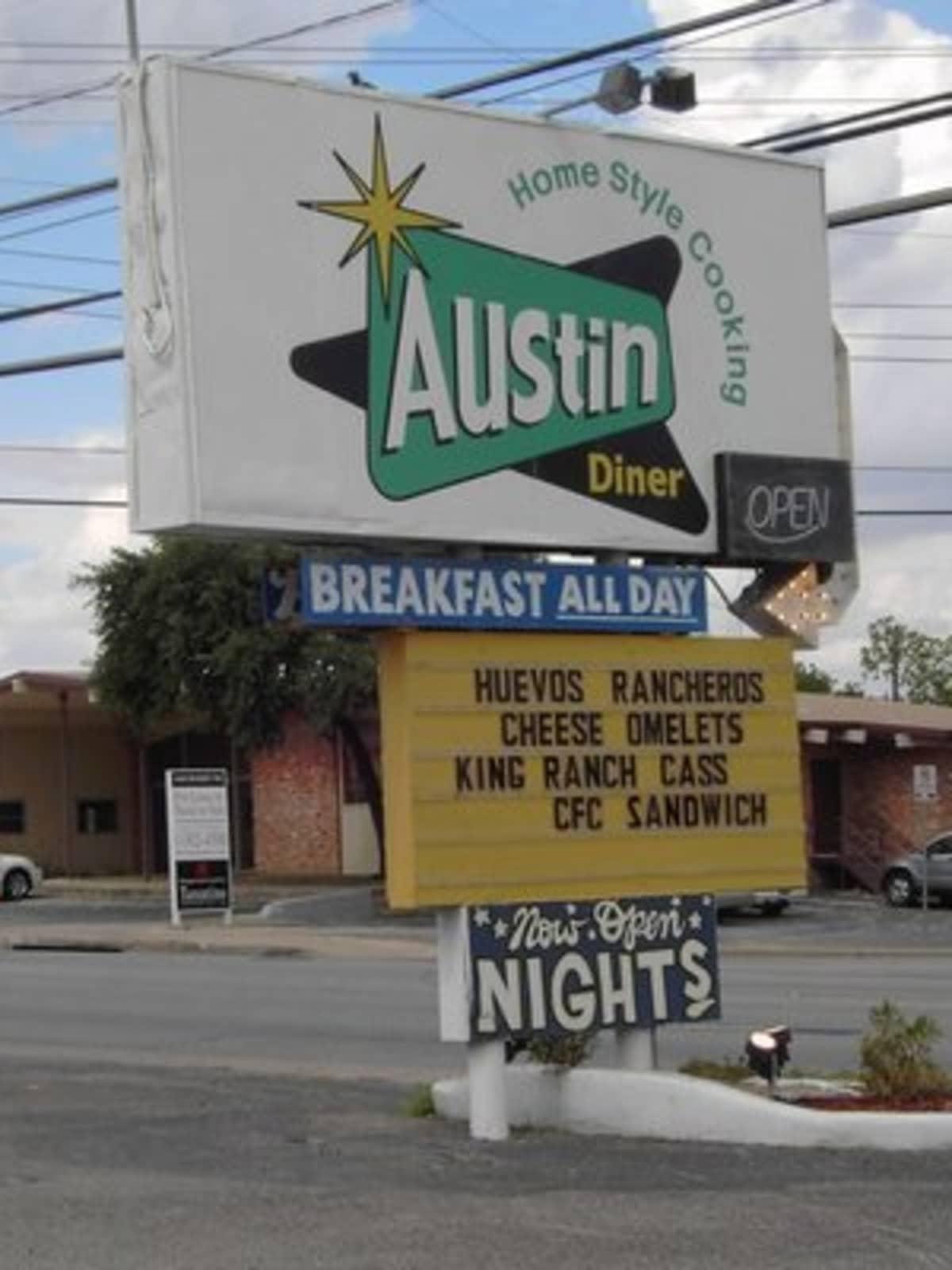 Austin Photo: Places_food_austin diner exterior