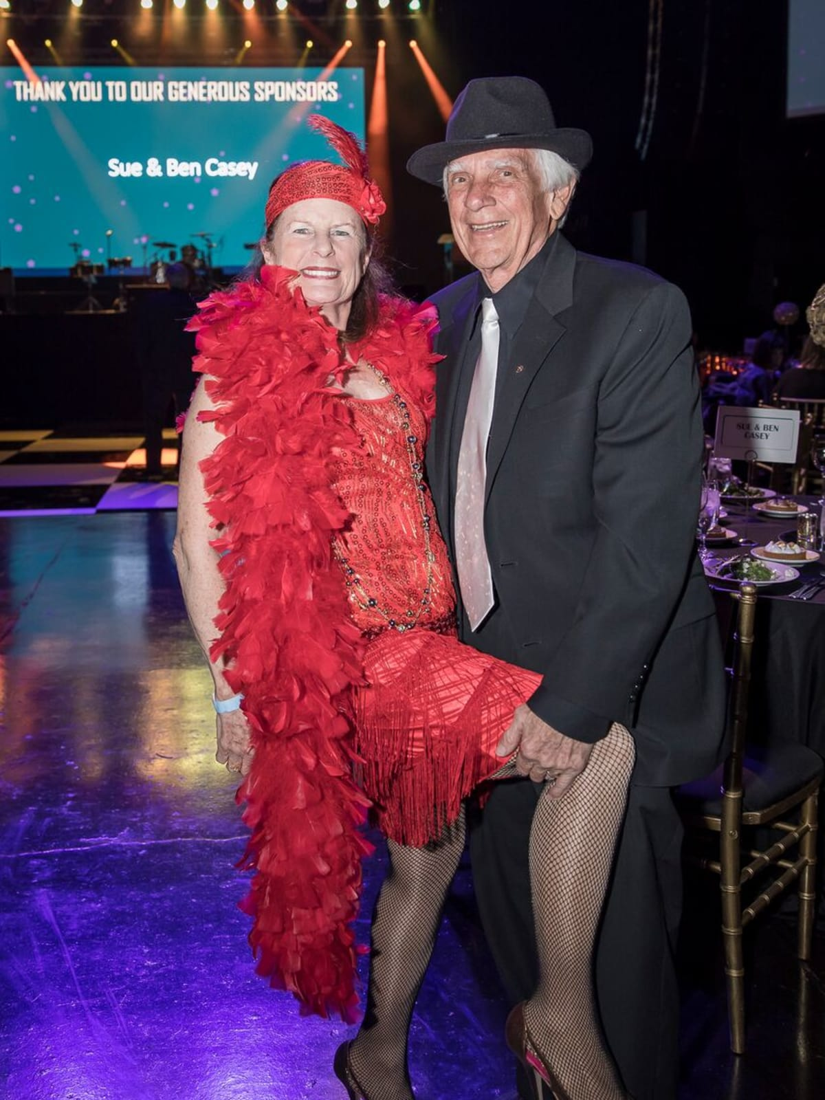 Equest After Dark Gala 2018, Sue and Ben Casey