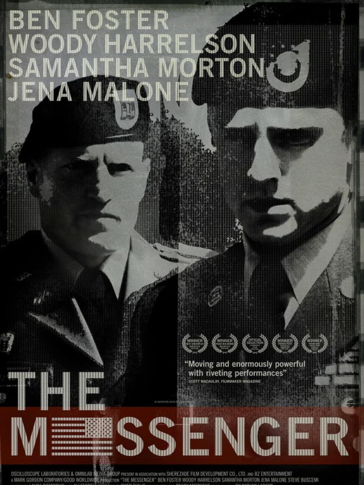 News_The Messenger_movie poster