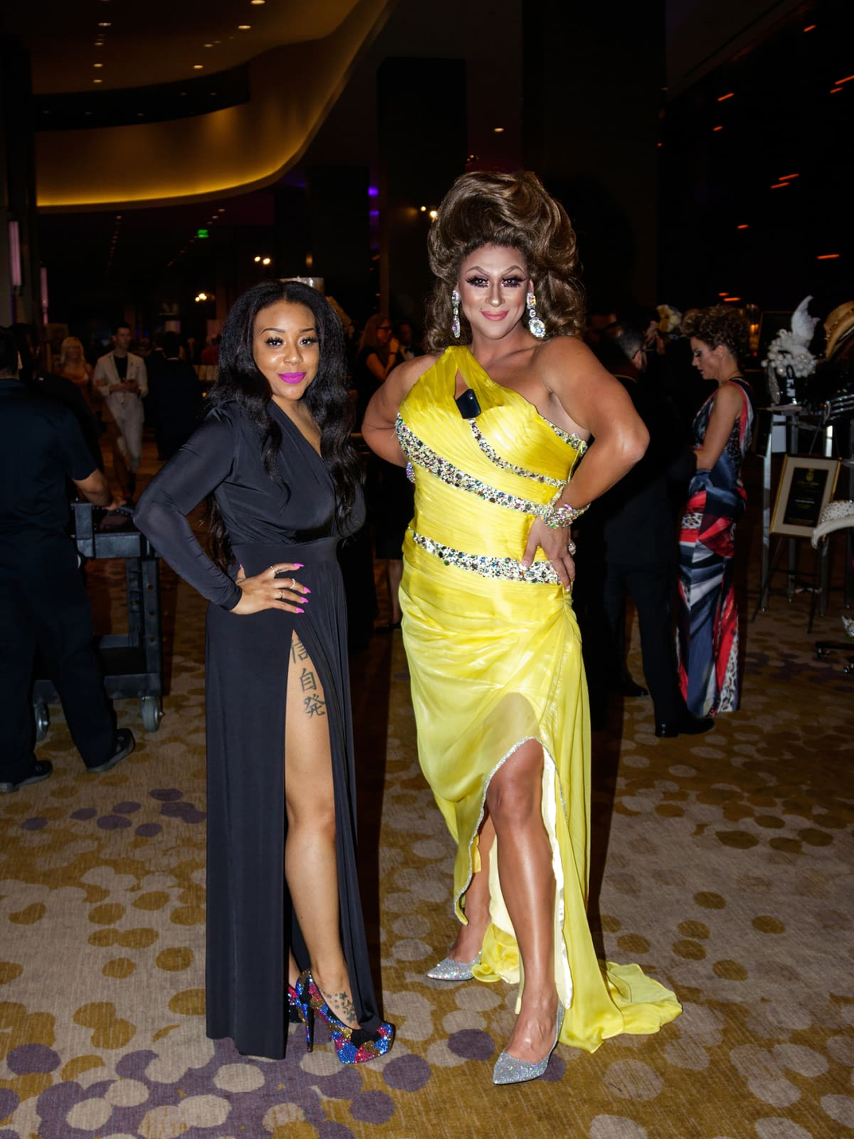 Teghan Collins, Sushie Chan at House of DIFFA 2018
