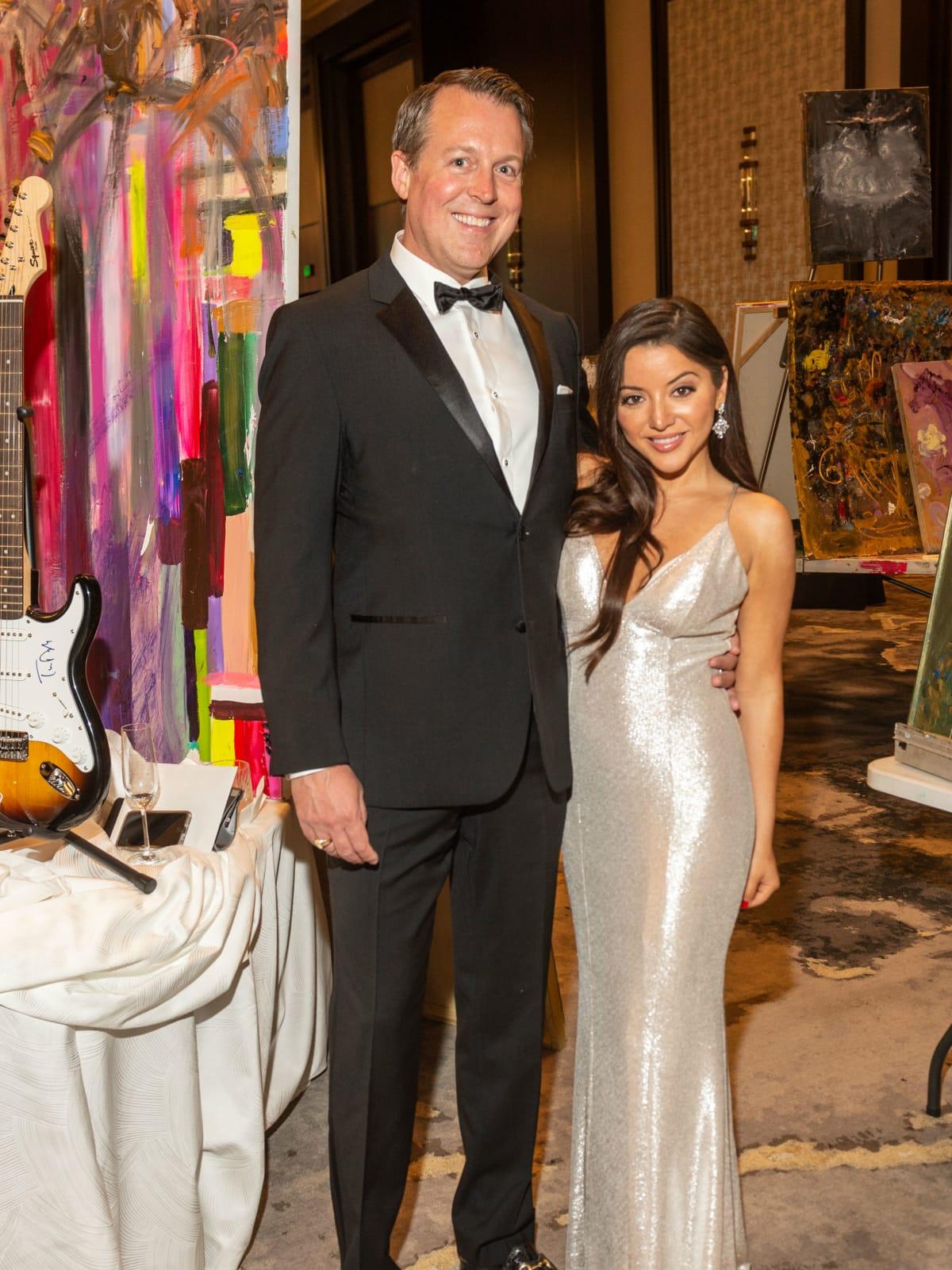 Virtuoso of Houston Gala Sean Buckley Gloria Cazarez