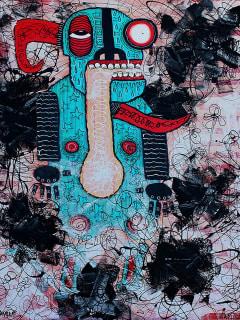 Kettle Art Gallery presents Jeff Skele and Ruben Ramirez: [krip-tik]</i>