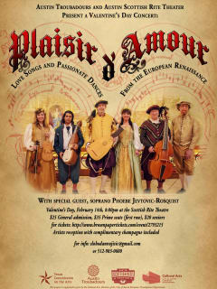 Austin Troubadours presents Plaisir D'Amour
