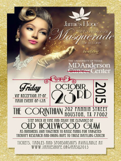 Jamie's Hope 4th Annual Masquerade for a Cure Gala