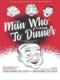 MacTheatre presents The Man Who Came to Dinner