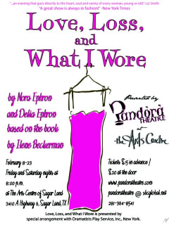 Pandora Theatre presents Love, Loss and What I Wore