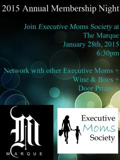 Executive Moms Society 2015 Annual Membership Night