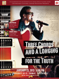 """Lecture: """"Three Chords and a Longing for the Truth"""" by John Waters"""