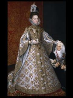 MFAH Prado audio-photo essay, December 2012, Sánchez Coello, The Infanta Isabel Clara Eugenia