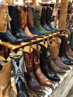 Designer appearance and trunk show: Lucchese Handmade Classics Boots