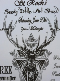 St. Roch's Seedy Little Art Show with Paul Tardie