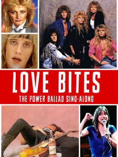 poster for the Action Pack's 2014 Love Bites sing-along