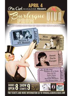 Viva Dallas Burlesque presents Burlesque Prom