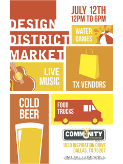 Design District Market July 2014