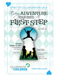 """Spirit of Collaboration Gala"" benefiting Collaborative for Children"