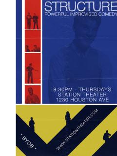 "Improv Comedy: Structure presents ""The Crash Atlas"""