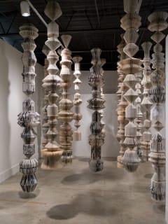 Laura Rathe Fine Art opening reception: Karen Hawkins: Floating Totems