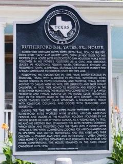 Historic District-Freedmen's Town Holiday Brick Festival