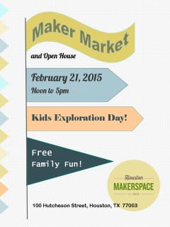 Houston Makerspace's Kids Exploration Day