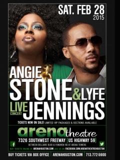Angie Stone and Lyfe Jennings