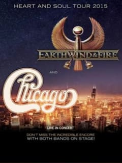 Chicago and Earth, Wind & Fire tour