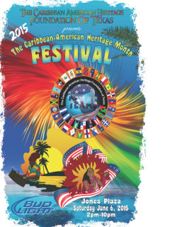Fifth Annual Caribbean American Heritage Month Festival