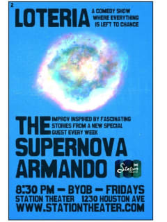 Station Theater Improv Comedy: Supernova Armando with Khoa Nguyen
